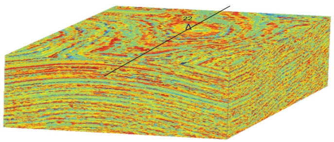 Shaliness prediction by the cube slice and the wellbore profile
